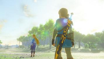 Первые полтора часа геймплея The Legend of Zelda: Breath of the Wild