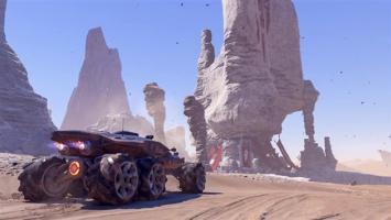 """Геймплейный ролик вездехода """"Кочевник"""" из Mass Effect: Andromeda"""