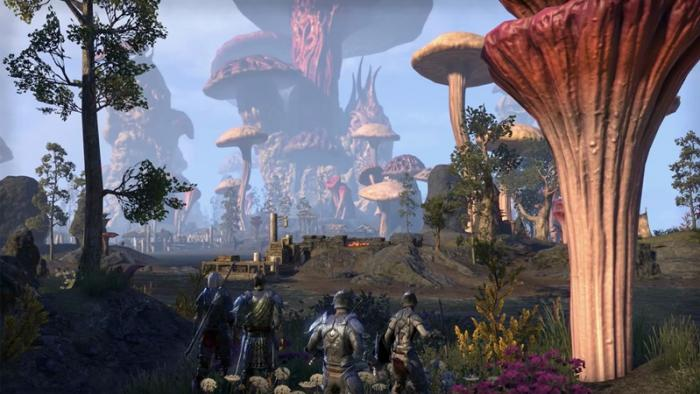 Скриншоты нового PvP-режима в дополнении The Elder Scrolls Online: Morrowind