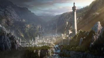 Осада крепости Минас Итиль в ролике Middle-earth: Shadow of War