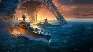 Франция приходит в World of Warships: что мы узнали на презентации в Тулоне