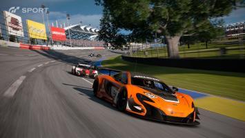 Геймплейный ролик Gran Turismo Sport на PS4 Pro