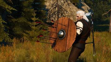 Новый мод для The Witcher 3 дает Геральту в руки щит