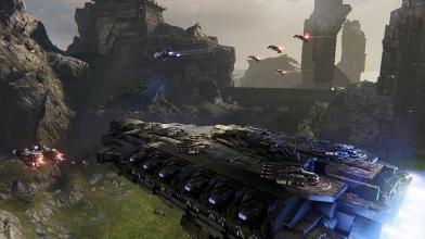 Космический экшен Dreadnought вышел в открытую бету на PC