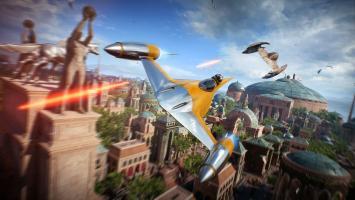 Геймплей Star Wars: Battlefront 2 на звездолетах с E3 2017