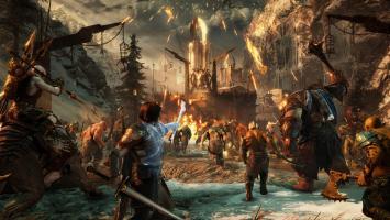 Битва с духом природы в записи геймплейной трансляции Middle-earth: Shadow of War