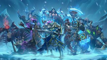 """В августе выходит дополнение """"Рыцари Ледяного трона"""" для Hearthstone"""