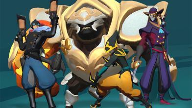 Раздача ключей со скинами для персонажей MOBA-экшена Gigantic