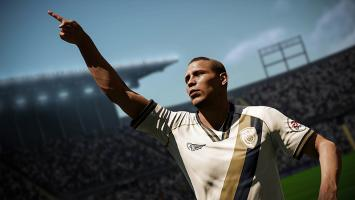 Геймплейная запись целого матча в FIFA 18