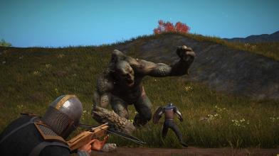 Началась закрытая альфа новой мультиплеерной песочницы с элементами выживания Valnir Rok
