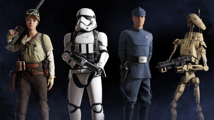Подробности системы классов бойцов в Star Wars: Battlefront 2