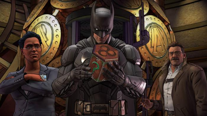 Трейлер первого эпизода Batman: The Enemy Within