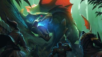 Геймплейный ролик Dauntless - подражателя Monster Hunter для PC