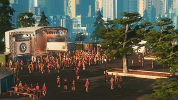 Для Cities: Skylines вышло новое дополнение - Concerts