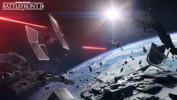 Первые кадры космических сражений в Star Wars: Battlefront 2