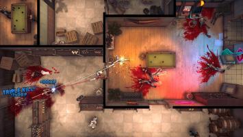 Новой игрой от Techland оказался кооперативный экшен God's Trigger в духе Hotline Miami