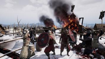 Новый геймплей стратегии Ancestors Legacy от создателей скандального экшена Hatred