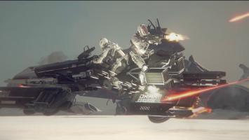 Новый планетарный транспорт в трейлере Star Citizen