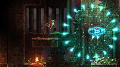 Красочный платформер SteamWorld Dig 2 вышел на PC