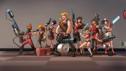 Для Team Fortress 2 разрабатывались женские персонажи