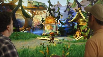 Double Fine показала первый играбельный уровень Psychonauts 2
