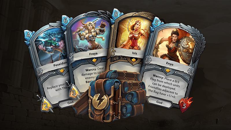 На консолях стартовала закрытая бета карточной стратегии Hand of The Gods