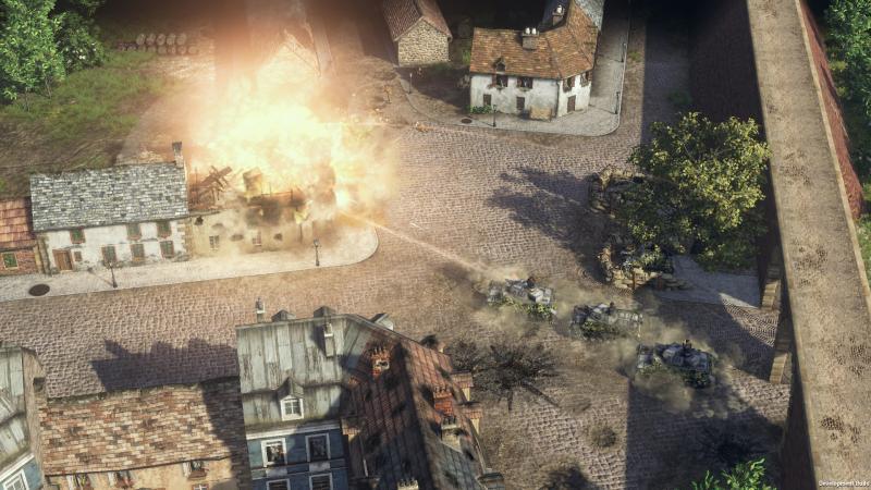 Дополнение Road to Dunkirk для Sudden Strike 4 уже доступно в Steam