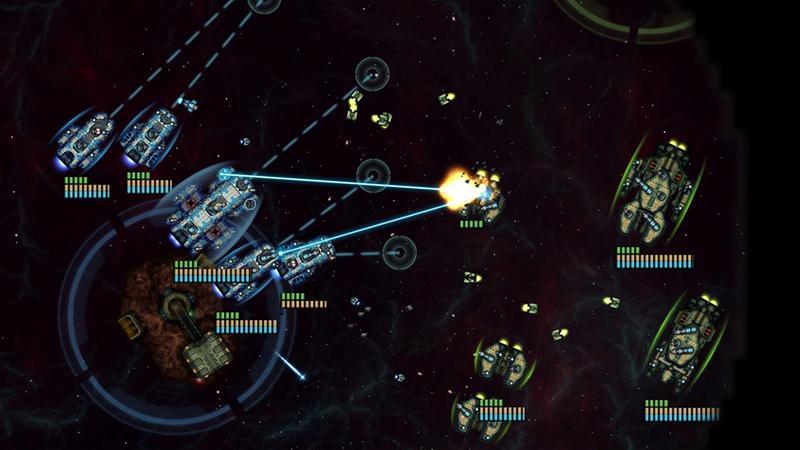 Через два дня в Steam выходит научно-фантастическая стратегия Battlevoid: Sector Siege