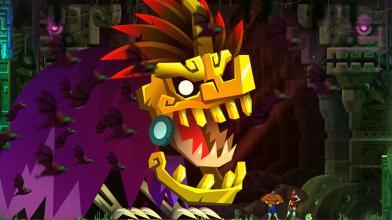 Дебютный геймплей увлекательного платформера Guacamelee! 2 для PC и PS4