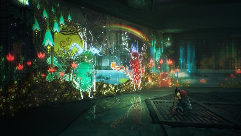 Для PS4 анонсирована красочная адвенчура Concrete Genie