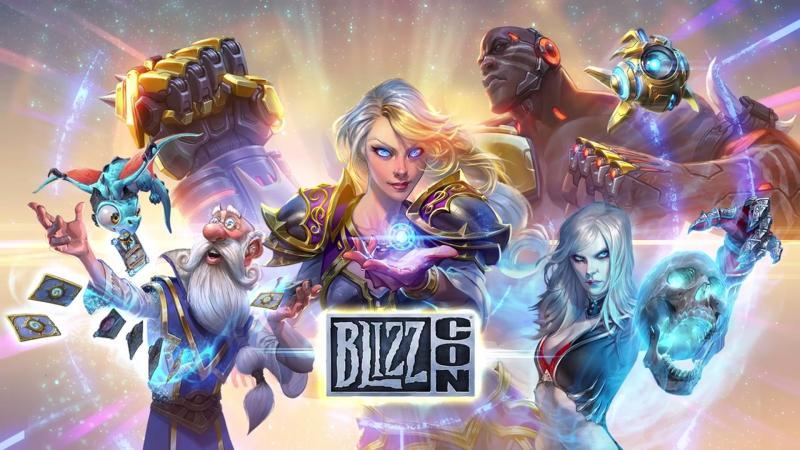 Прямая трансляция церемонии открытия BlizzCon 2017