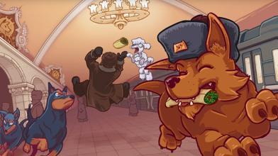 Новый геймплейный трейлер юмористического ретро-экшена Russian Subway Dogs