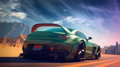 Журнал Super Street про гоночные автомобили и тюнинг анонсировал аркадный рейсинг Super Street The Game