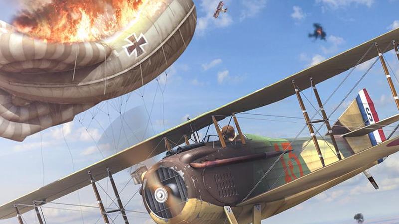"""Анонсирован авиасимулятор Flying Circus от создателей """"Ил-2 Штурмовик"""", посвященный Первой мировой"""