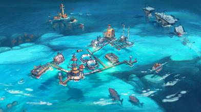 """Градостроительный симулятор Flotsam позволит создать поселение в океане в духе фильма """"Водный мир"""""""