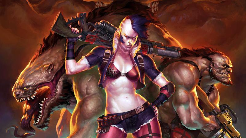 В конце ноября выходит вторая кампания для экшена Raiders of the Broken Planet
