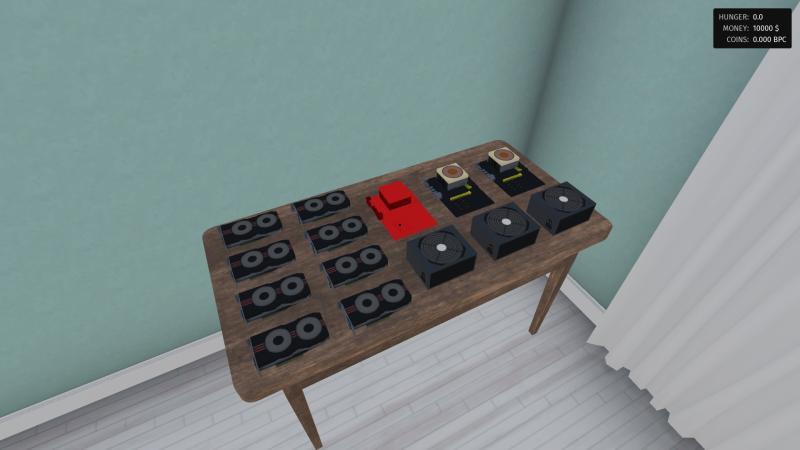 Для PC анонсирована игра про майнинг криптовалют, в которой можно продать почку