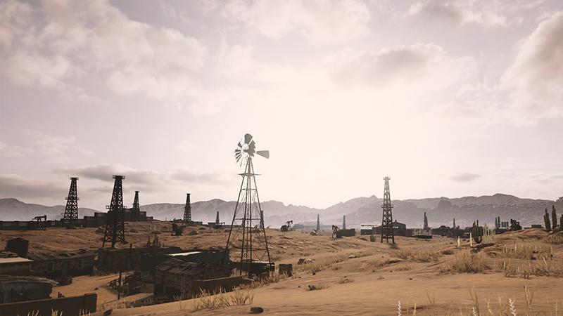 Дебютный геймплей пустынной карты PUBG будет показан на The Game Awards 2017