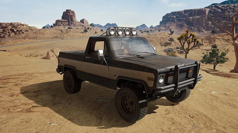 На пустынной локации PlayerUnknown's Battlegrounds будет доступен новый автомобиль