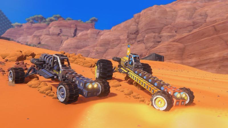 В конце января выходит автомобильная песочница Trailmakers