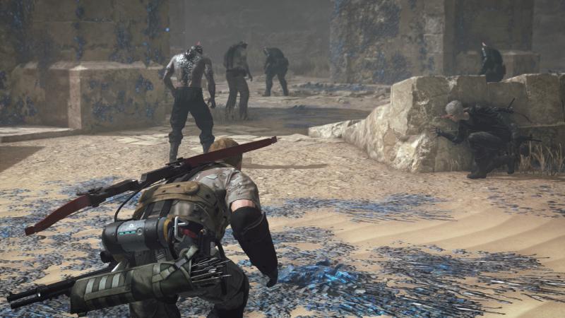 Строительство базы, крафтинг и полчища зомби в новом геймплее Metal Gear Survive