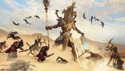 Геймплейный ролик дополнения Rise of the Tomb Kings для Total War: Warhammer 2