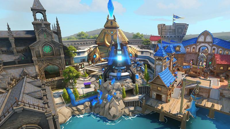 Карта Blizzard World для Overwatch появится в игре на следующей неделе