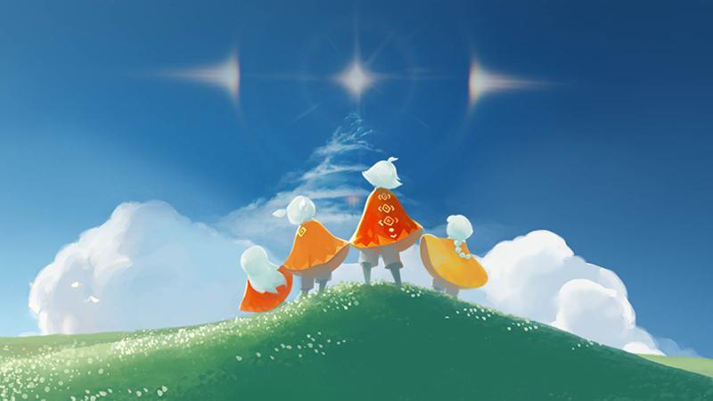 Полчаса геймплея Sky - духовного наследника Journey