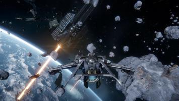Сражения на космических кораблях в новых роликах Star Citizen