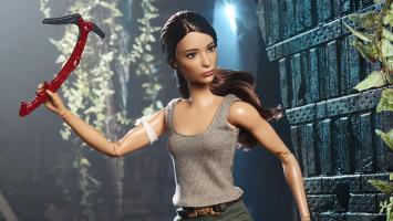 """Лара Крофт подарила внешность новой кукле """"Барби"""""""