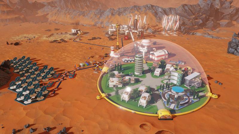 Разработчики Surviving Mars объяснили, как будет происходить колонизация Красной планеты