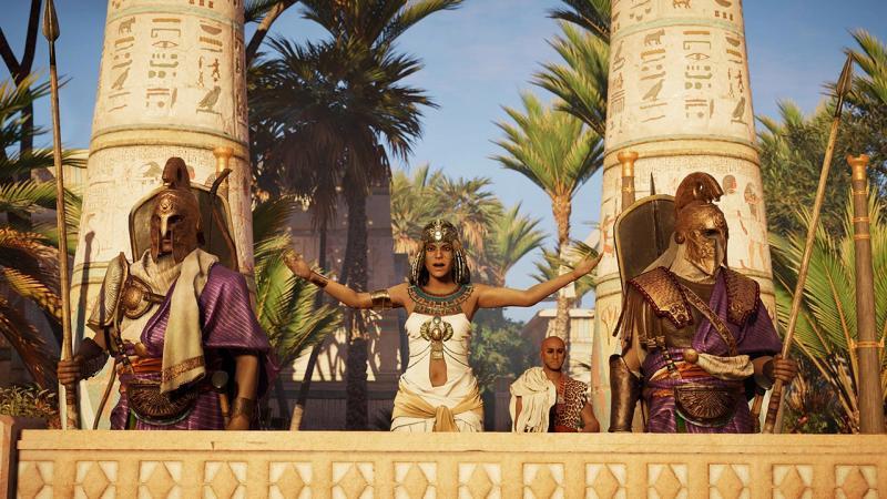 Релизный трейлер Исследовательского режима для Assassin's Creed: Origins