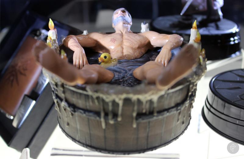 pyjfzcfz - Статуэтка Геральта в ванне может оказаться на вашей полке