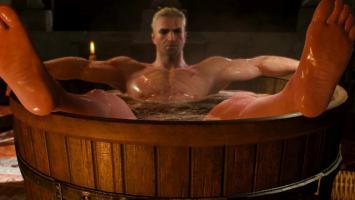 Статуэтка Геральта в ванне может оказаться на вашей полке